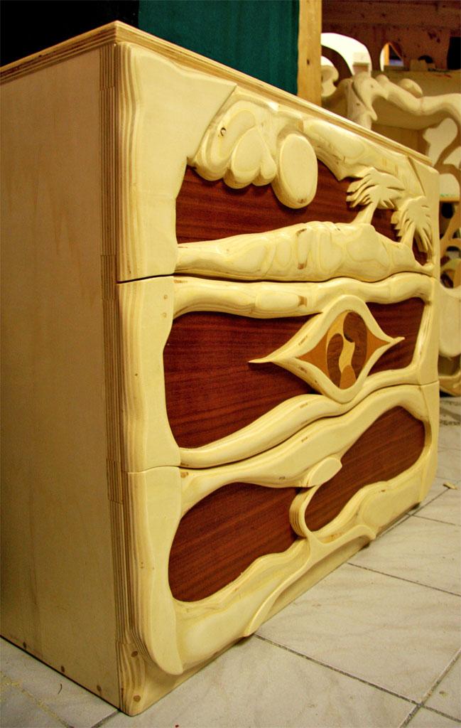 Il mobile ecologico: di legno e fatto a mano  La Falegnameria Artistica