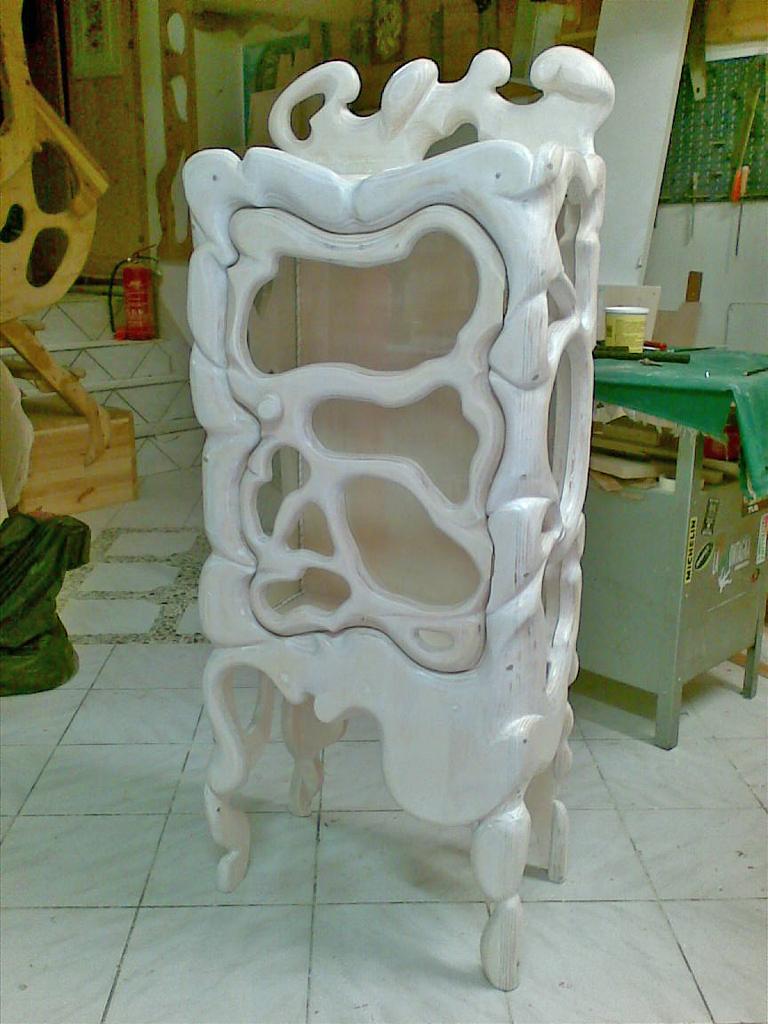 Vetrinetta in legno Francesca
