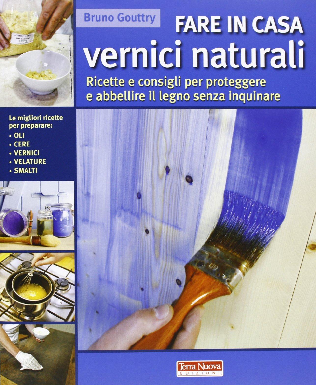 vernici naturali per legno