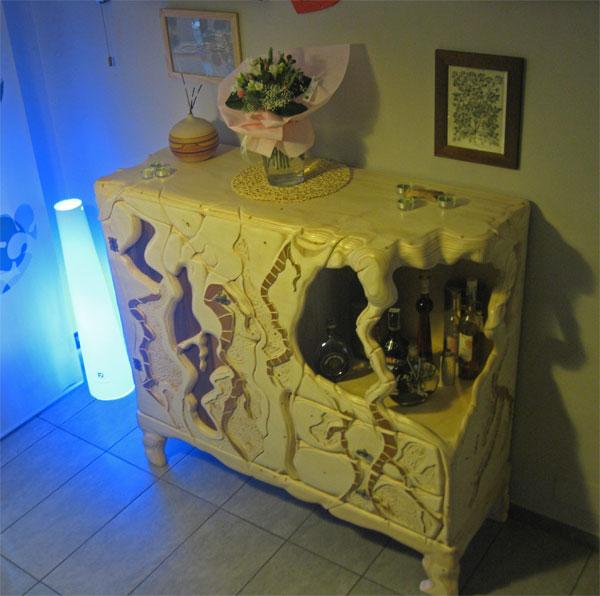 Mobile angolo bar la falegnameria artistica - Mobili bar da salotto ...