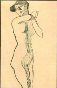 disegno di donna
