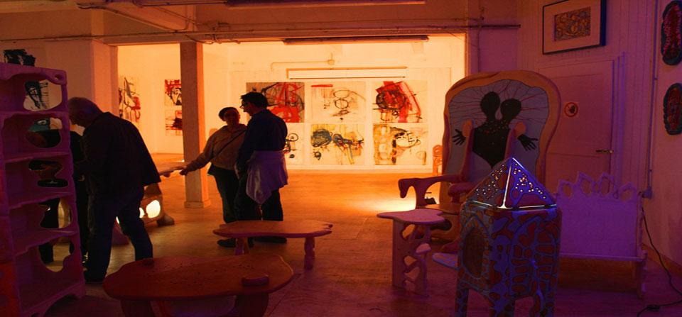 Spazio per mostre e esposizioni