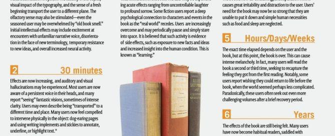 infografica che descrive i benefici della lettura